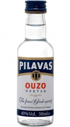 Ouzo 40% 50ml Pilavas Greek