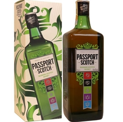 Whisky Passport 40% 1L Scotch etik2 Box