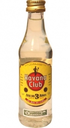 Rum Havana Club Anejo 3 Anos 40% 50ml mini etik2