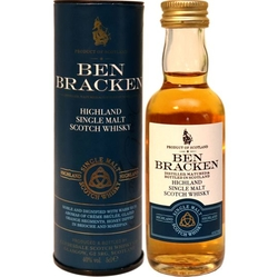 Whisky Ben Bracken Highland 40% 50ml miniatura