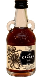 Kraken Rum Black Spiced 40% 50ml Miniatura