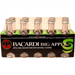 Rum Bacardi Big Apple 35% 50ml x10 miniatura
