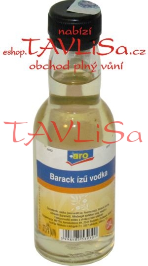 Barack izu vodka 37,5% 40ml aro miniatura